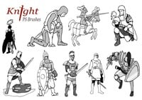 20 Knight PS Brushes abr.vol.2