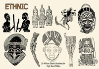 20 African Ethnic Brushes.abr