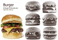 20 Burger PS Borstels ca. vol.2