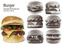 20 Burger PS Brushes abr. vol.2