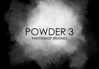 Free Powder Photoshop Brushes 3