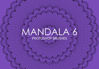 Gratis Mandala Photoshop Borstels 6