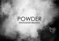 Pinceaux Powder Photoshop gratuits