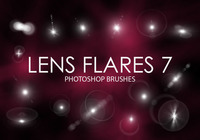 Free Lens Flare Photoshop Brushes 7