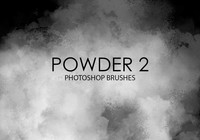 Free Powder Photoshop Brushes 2