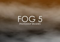 Libre Niebla Photoshop Brushes 5