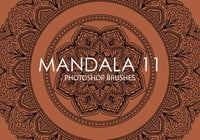 Gratis Mandala Photoshop Borstels 11