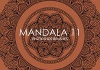 Free Mandala Photoshop Brushes 11