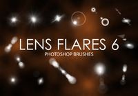 Gratis Lens Flare Photoshop Borstels 6