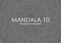 Gratis Mandala Photoshop Borstels 10