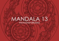 Gratis Mandala Photoshop Borstels 13