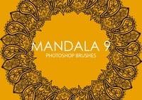 Free Mandala Photoshop Brushes 9