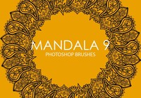 Gratis Mandala Photoshop Borstels 9