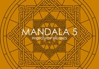 Gratis Mandala Photoshop Borstels 5