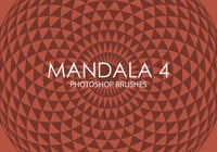 Escovas gratuitas do photoshop do mandala 4