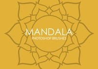 Gratis Mandala Photoshop Borstels