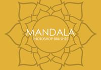 Free Mandala Photoshop Brushes