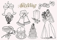 20  Wedding PS Brushes abr