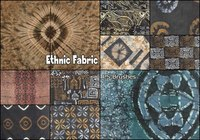 20 Ethnic Fabric PS Pinceles abr.