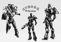 20 Cyborg PS Brushes abr.vol.1