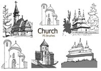 20 Sketch Church Brushes abr. vol.4