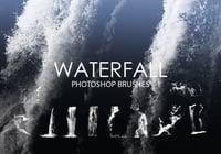 Free Waterfall Photoshop Brushes