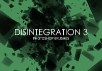 Libre Desintegración Photoshop Brushes 3