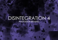 Free Disintegration Photoshop Brushes 4