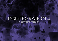 Libre Desintegración Photoshop Brushes 4