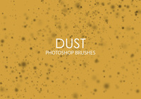 Free Dust Photoshop Brushes