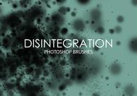 Free Disintegration Photoshop Brushes