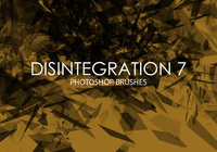 Libre Desintegración Photoshop Brushes 7