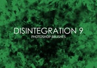 Free Disintegration Photoshop Brushes 9