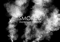 Gratis Smoke Photoshop Borstar 5