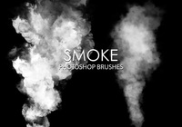 Gratis Smoke Photoshop Borstar