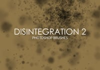 Gratis Disintegration Photoshop Borstar 2