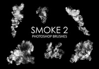 Free smoke photoshop brush 2
