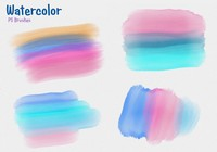20 Watercolor Mask PS Brushes abr
