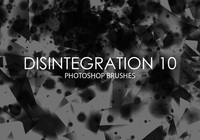 Free Disintegration Photoshop Brushes 10