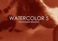 Free Watercolor Photoshop Brushes 5