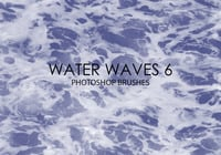 Free Water Waves Photoshop Bürsten 6
