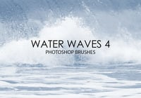 Free Water Waves Photoshop Bürsten 4