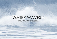 Free Water Waves Photoshop Brushes 4
