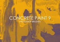 Free Concrete Paint Photoshop Brushes 9