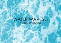 Gratis Water Golven Photoshop Borstels 5