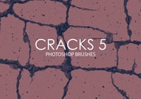Free Cracks Photoshop Brushes 5