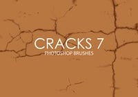 Free Cracks Photoshop Brushes 7