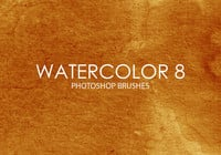 Free Watercolor Photoshop Brushes 8