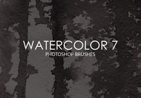 Free Watercolor Photoshop Brushes 7