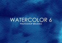 Gratis Watercolor Photoshop Borstels 6